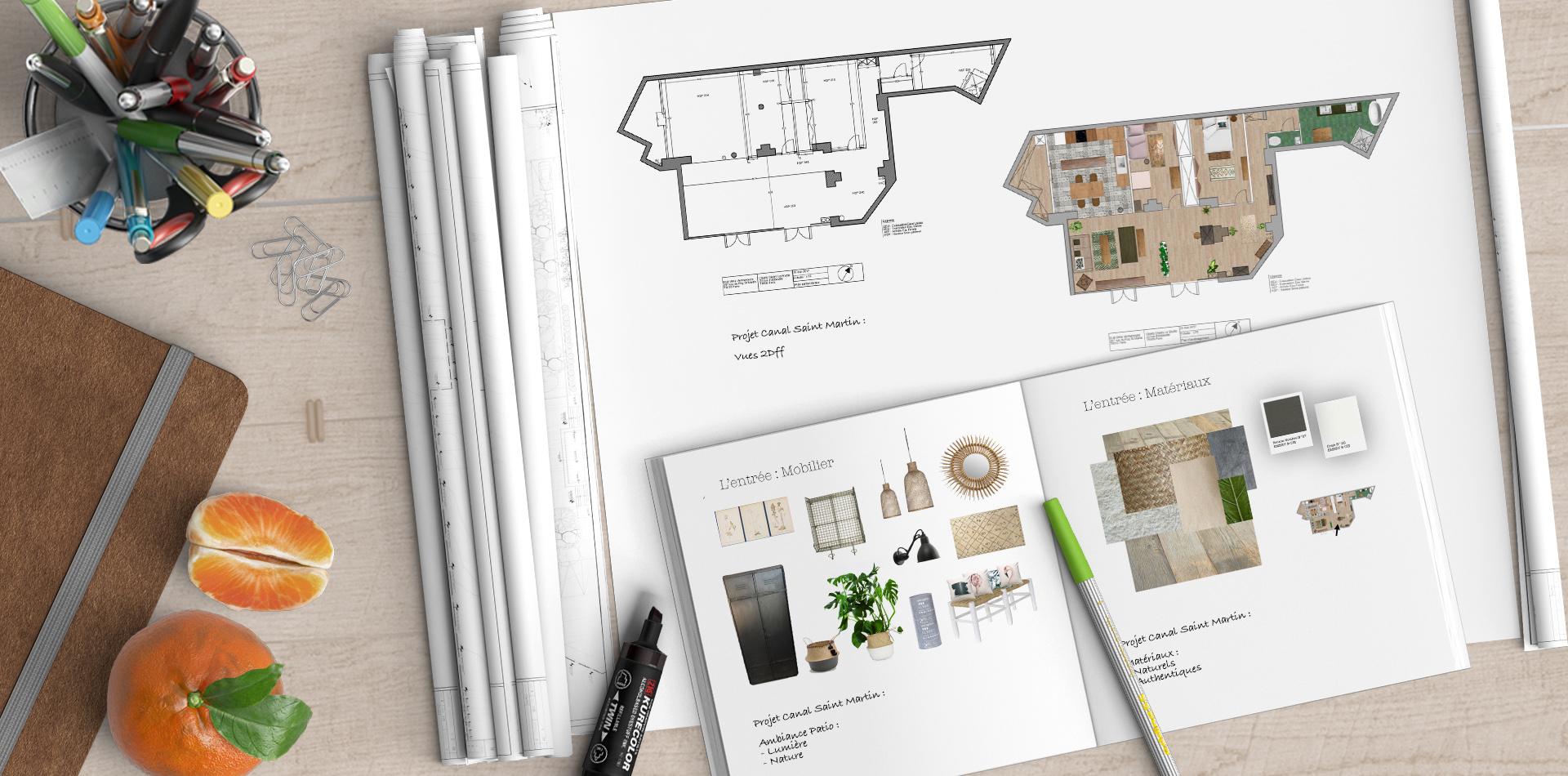 Prestations en architecture d' intérieure