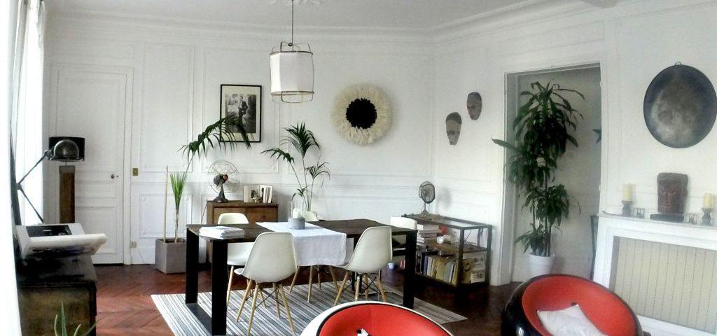 Relooking salon Paris Orlane Mackiewicz